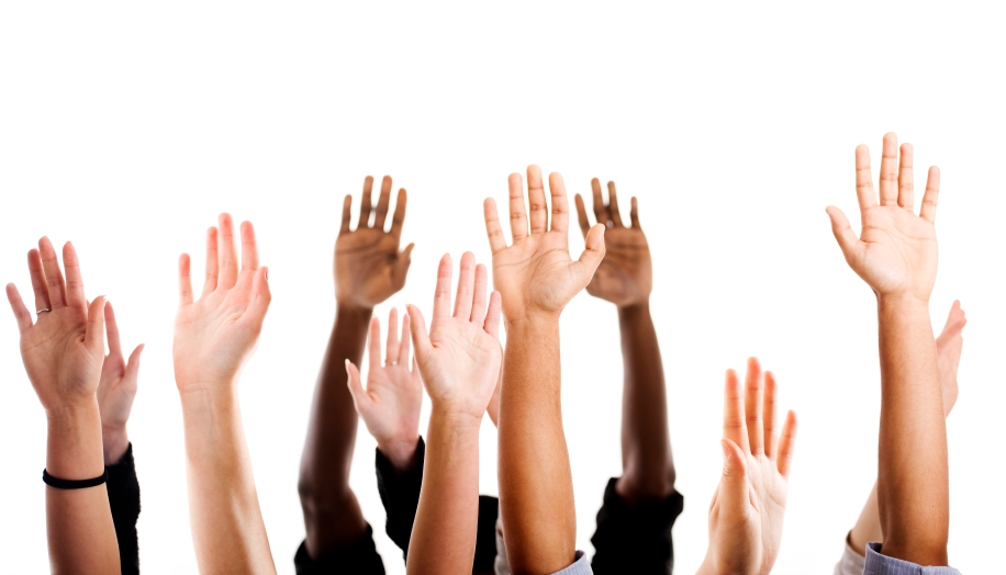 Raising Hand